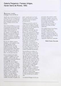 012_A_GALERIA_PERGAMON_FRANCESC_ARTIGAU_XAVIER_SERRA_DE_RIVERA_1992