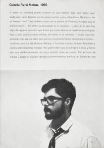 03_A_GALERIA_RENE_METRAS_1966